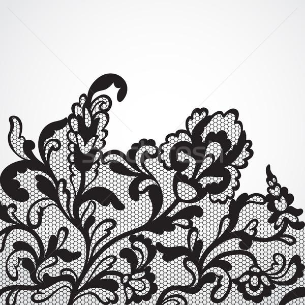 вектора кружево орнамент текстуры природы дизайна Сток-фото © iktash