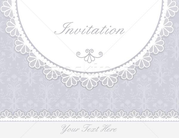 приглашения летию карт Label текстуры вечеринка Сток-фото © iktash