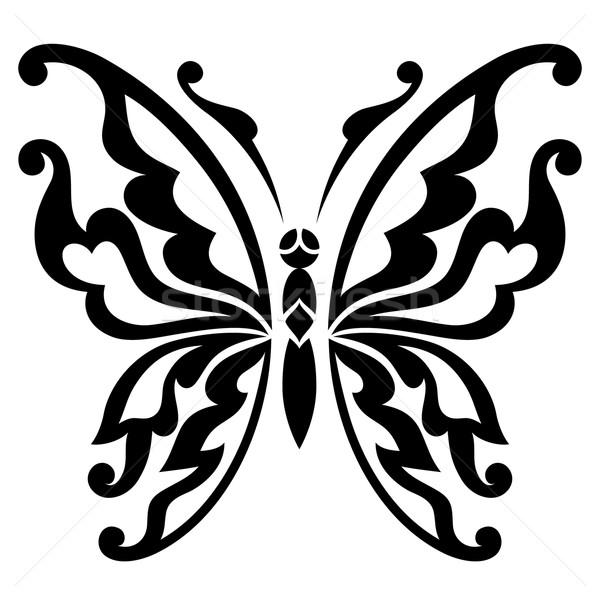 вектора бабочка аннотация природы искусства лет Сток-фото © iktash