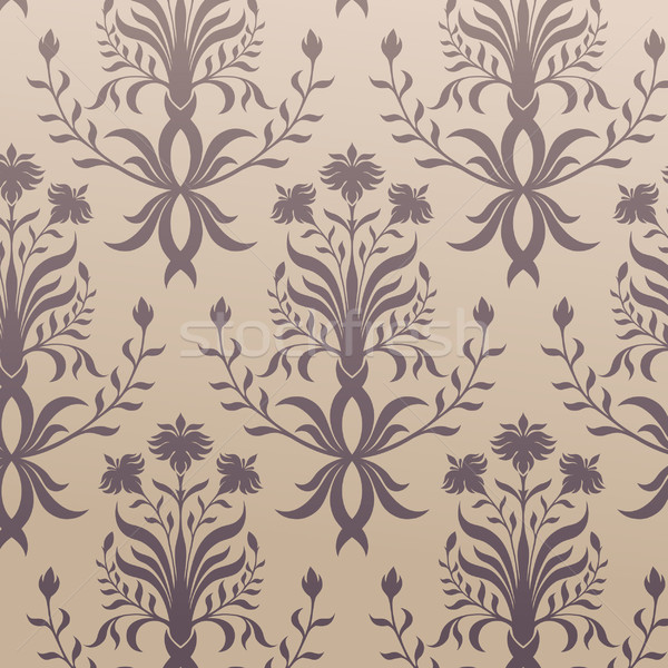 бесшовный вектора Vintage орнамент текстуры природы Сток-фото © iktash