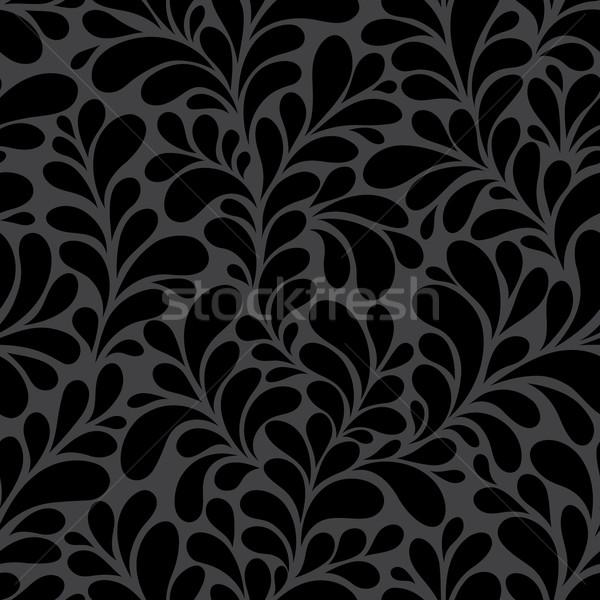бесшовный цветочный воды бумаги текстуры дизайна Сток-фото © iktash