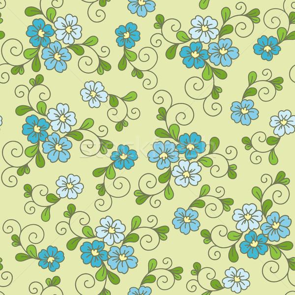 цветочный цветок текстуры весны моде Сток-фото © iktash