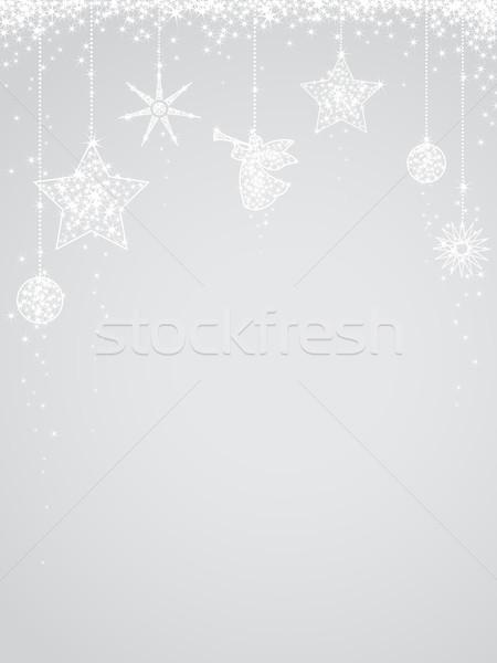 аннотация дизайна снега фон пространстве Сток-фото © iktash