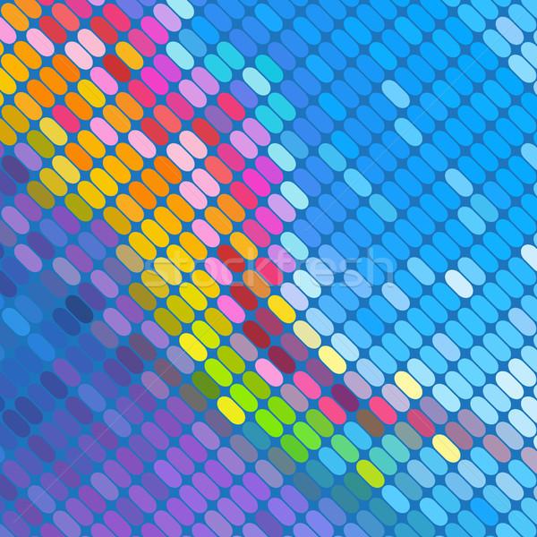 аннотация мозаика вектора свет технологий искусства Сток-фото © iktash