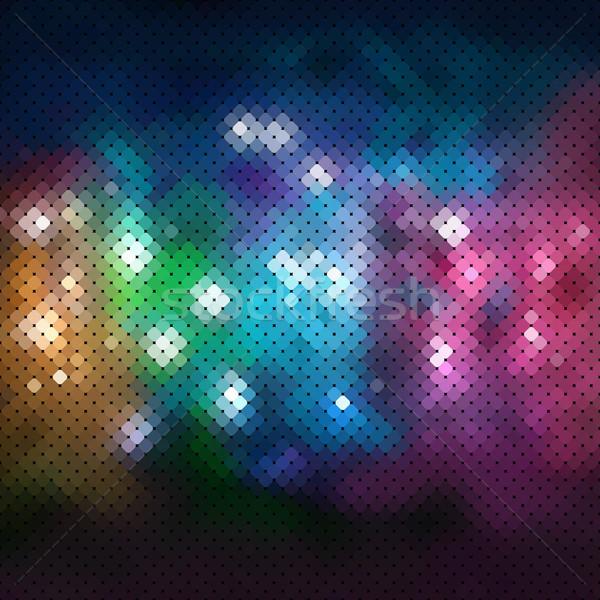 аннотация вектора свет технологий искусства черный Сток-фото © iktash