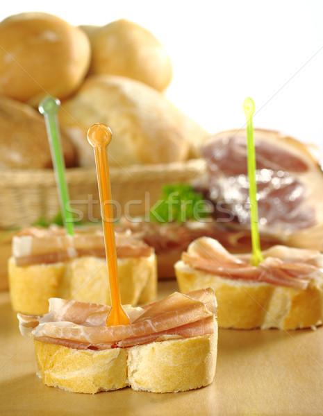 Ham Sandwich Stock photo © ildi