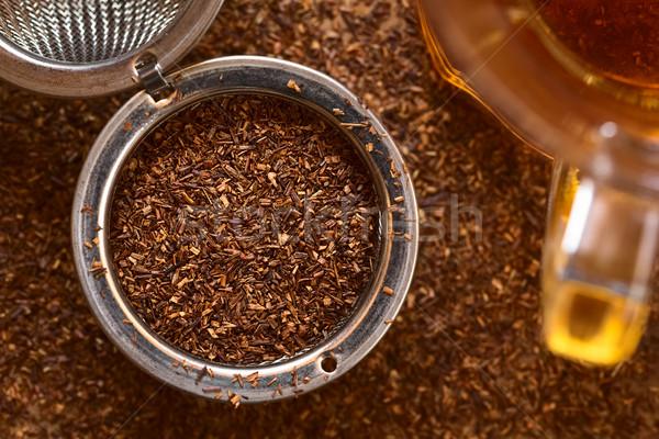 Chá medicinal preparado chá lado Foto stock © ildi