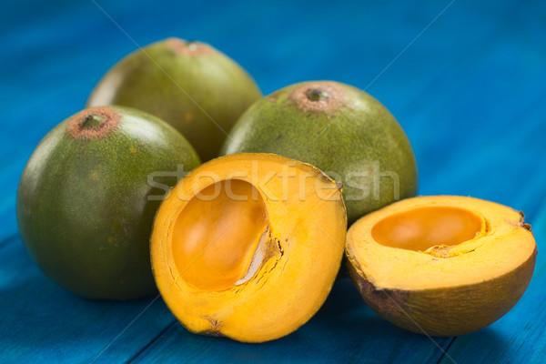 Stock photo: Peruvian Fruit Called Lucuma