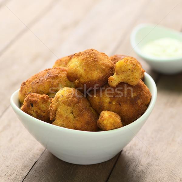 Breaded Cauliflower Stock photo © ildi