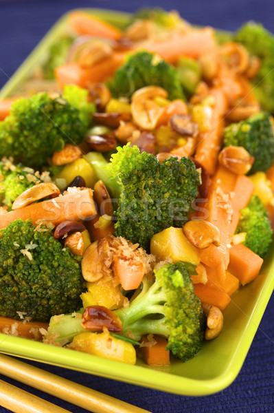 Stock photo: Vegetable Stir-Fry Thai-Style