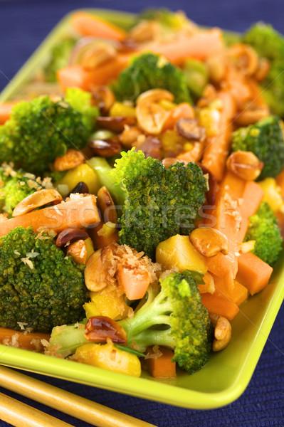 Vegetable Stir-Fry Thai-Style Stock photo © ildi