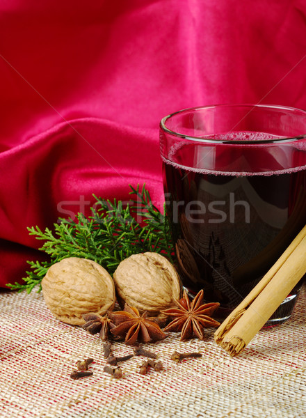 Hot Spiced Wine  Stock photo © ildi