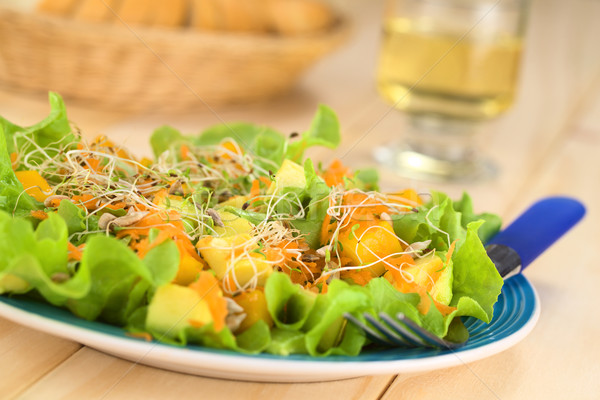 Mango Avocado and Carrot Salad Stock photo © ildi