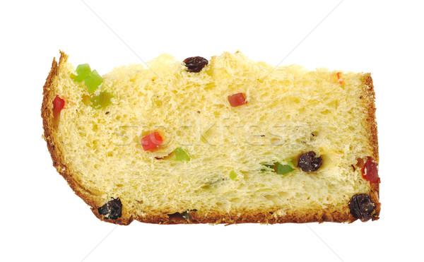 A Slice of Panettone, the Italian Christmas Cake Stock photo © ildi