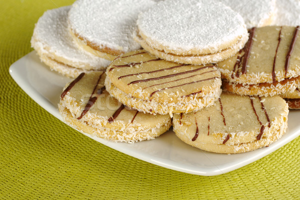 Peruvian Cookies Called Alfajor Stock photo © ildi