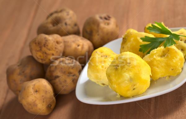 Peruvian Yellow Potato Stock photo © ildi