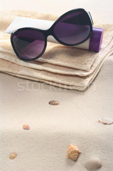 Beach Setting  Stock photo © ildi