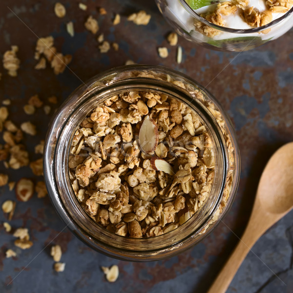 Crunchy Granola Stock photo © ildi