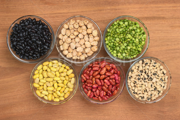 A Variety of Legumes   Stock photo © ildi