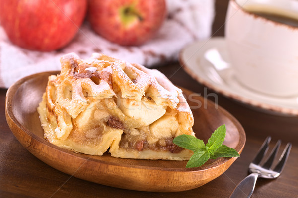Apple Strudel with Raisins Stock photo © ildi