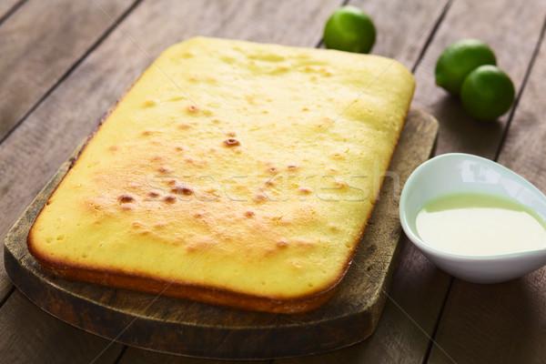 Lime Cake  Stock photo © ildi