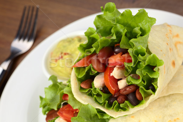 Mexican Tortilla Wraps Stock photo © ildi