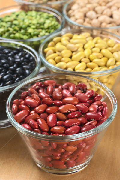 Kidney Beans and Other Legumes Stock photo © ildi