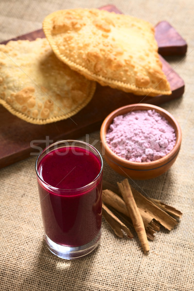 Bolivian Api, a Purple Corn Beverage Stock photo © ildi