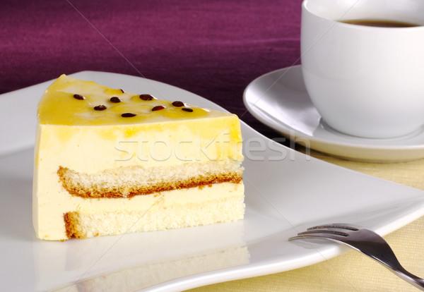 Passionfruit Cake Stock photo © ildi