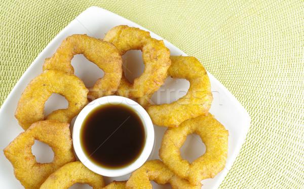 Peruvian Dessert Called Picarones  Stock photo © ildi