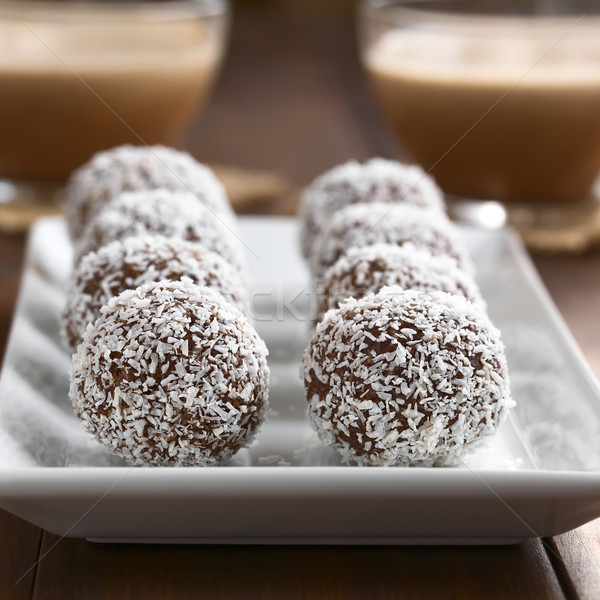 Coconut Rum Balls Stock photo © ildi