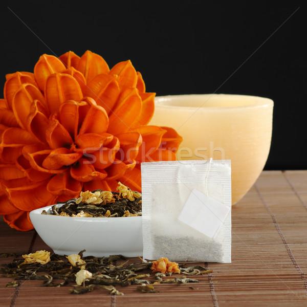 Tea and Teabag Stock photo © ildi