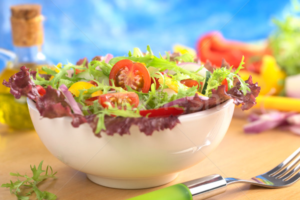 Fresh Mixed Salad Stock photo © ildi