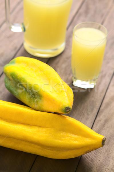Babaco Fruit Stock photo © ildi