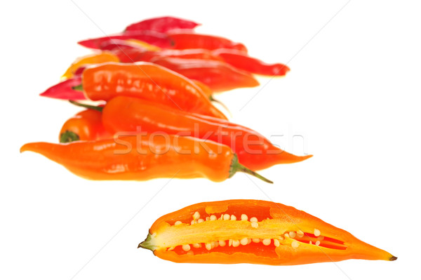 Aji (Peruvian Hot Pepper) Stock photo © ildi