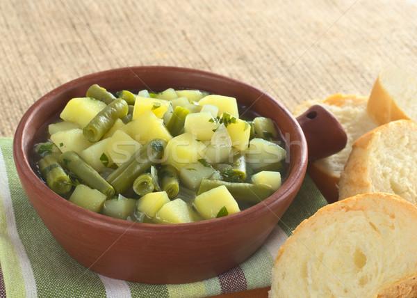 Potato-Green-Bean Hotpot Stock photo © ildi