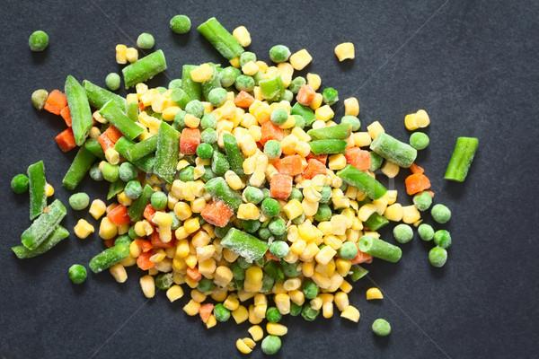 Stock photo: Frozen Mixed Vegetables