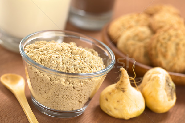 Maca Powder (Flour) Stock photo © ildi