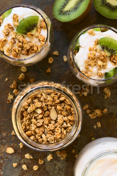 Crunchy Granola and Parfait Stock photo © ildi
