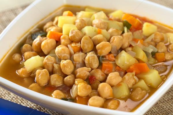 Chickpea Soup Stock photo © ildi