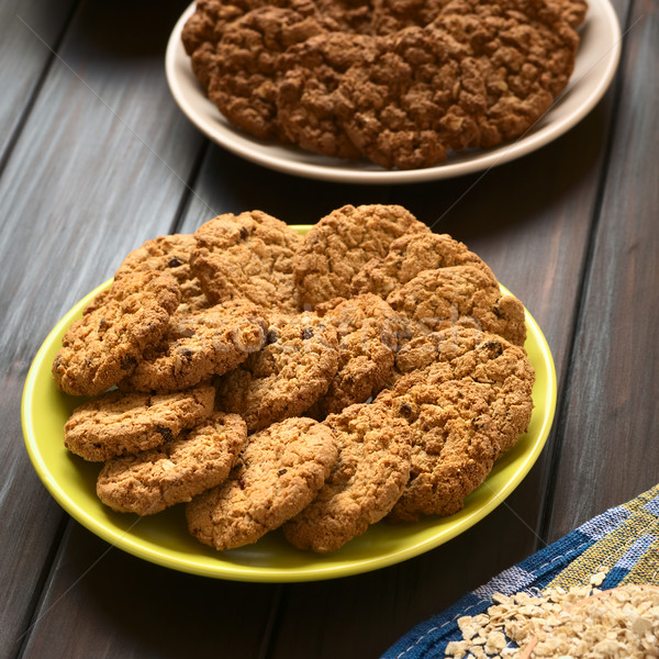Oatmeal and Apple Cookies Stock photo © ildi