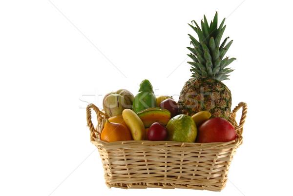 Exotic Fruits in Basket Stock photo © ildi