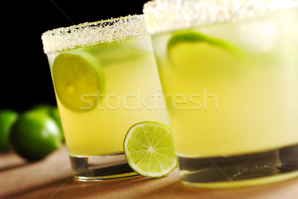Stock photo: Fresh Lemonade and Limes