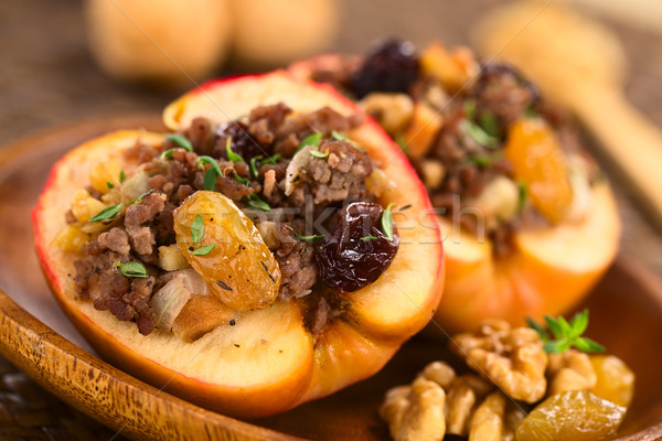 Savory Baked Apple Stock photo © ildi