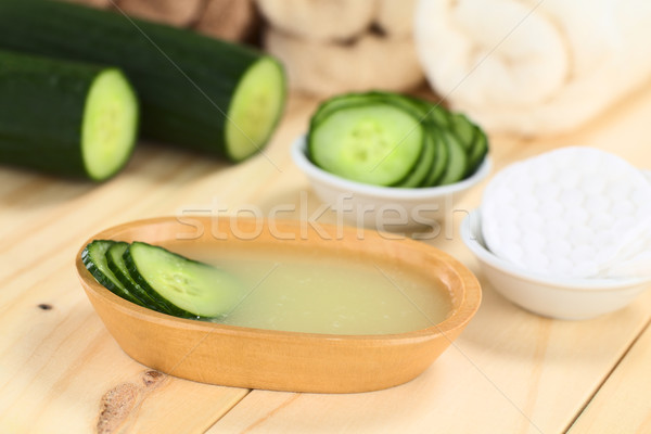 Homemade Cucumber Toner Stock photo © ildi