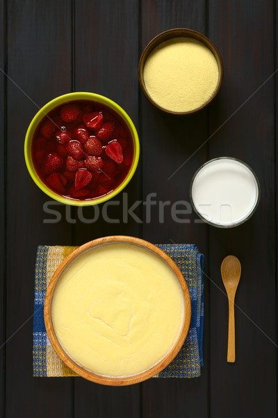 Semolina Pudding Stock photo © ildi