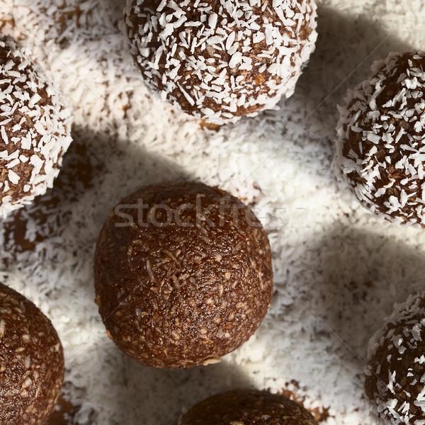 Coconut Rum Balls Stock photo © ildi