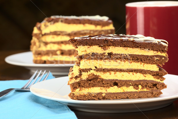 Peruvian Lucuma Cake Stock photo © ildi