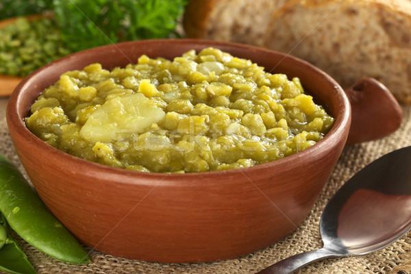 Split Pea Soup Stock photo © ildi