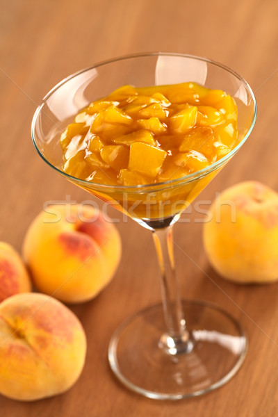 Peach Compote Stock photo © ildi